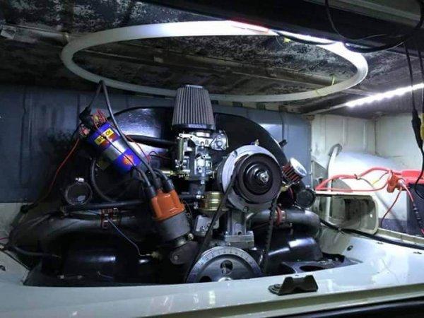 Blazecut-VW-engine-bay-install