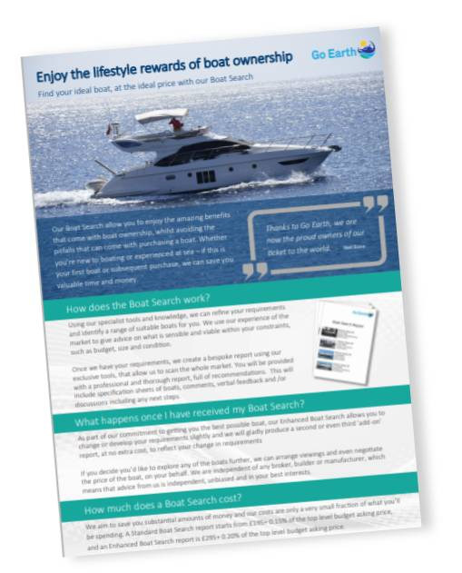 Download our Boat Search Services Brochure
